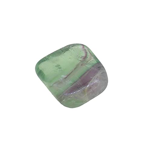 Regenbogenfluorit Trommelstein 20-25 mm groß, Handschmeichler Handstein Taschenstein