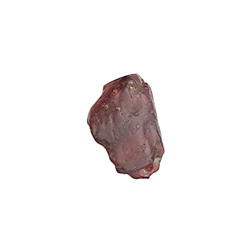 REAL-GEMS Kleiner roter Spinell Naturstein, Roter Spinell Roh, 2,10 Karat, Heilstein, Ei-zertifizierter Spinell Edelstein