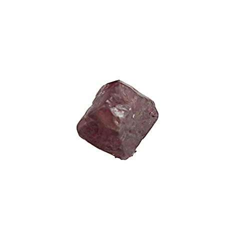 REAL-GEMS Kleiner natürlicher roter Spinell-Stein, roh, rau, 1,40 Karat, roter Spinell, Heilstein, zertifizierter Spinell-Edelstein