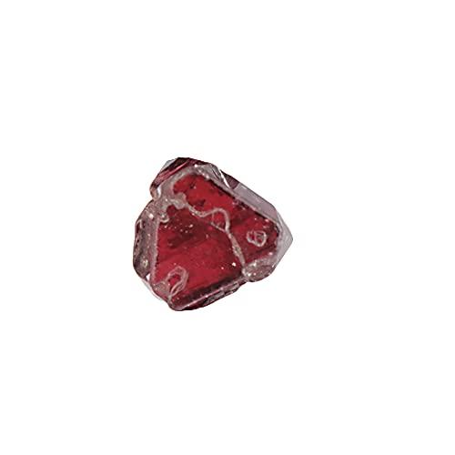 REAL-GEMS Roter Spinell kleiner Naturstein, roher roher roher roter Spinell 1,90 Karat Heilstein