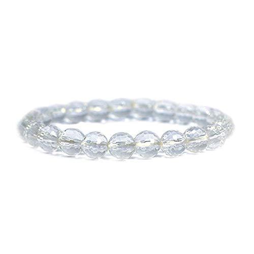 Emilys Gems Kraft - Power - Chakra Armbänder/Dehnbar / 8mm Naturstein - Für Ihr Wohlbefinden - Opalith