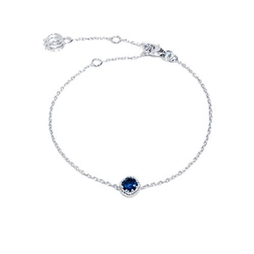 Saphir Armband | 925 Sterling Silber Rhodiniert, Noble Nature Original