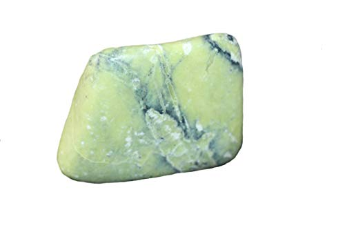 Lizardit Sammlerstein Heilstein echt mit toller grüner Farbe und hübscher Form !