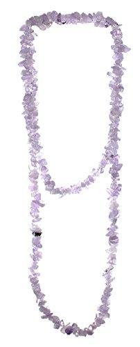 budawi® - Lavendelquarz Kette Halskette...