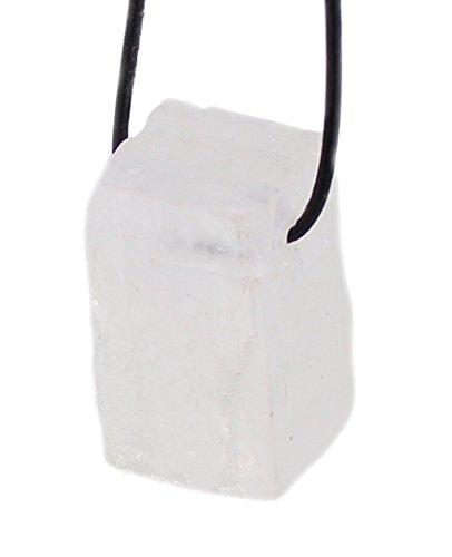 Budawi® -Calcit-kristall Anhänger 30 x 16 mm mit, Rohstein Edelstein-Anhänger