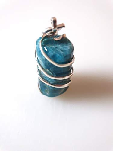 Halskette mit Anhänger 'Fluidance der Energies' aus Apatit
