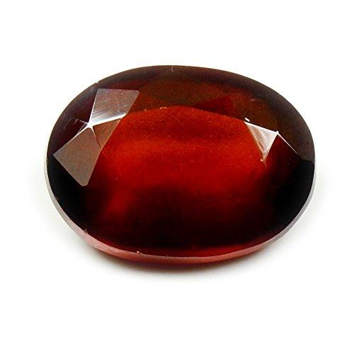 Jewelryonclick Hessonit Stein 5,5 Karat Granat natürlicher original loser Edelstein
