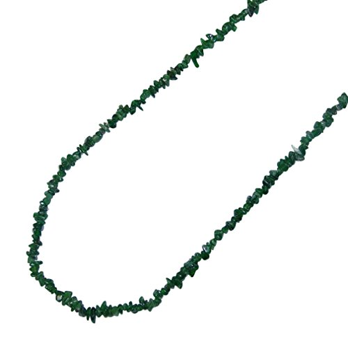 Diopsid grün Splitter Kette 90 cm endlos = ohne Verschluss.(3548)