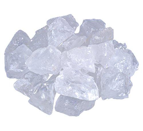 Bergkristall Wassersteine | 100% naturbelassene Rohsteine | 300g Lebensquelle Plus