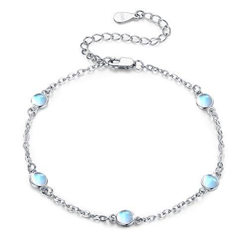Mondstein Armband Sterling Silber...