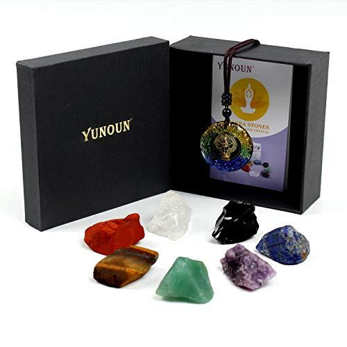 Yunoun Reiki-Heilkristall-Chakra-Steine...