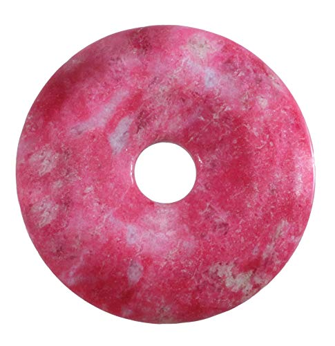 Lebensquelle Plus Thulit Edelstein Donut Ø 30 mm Anhänger