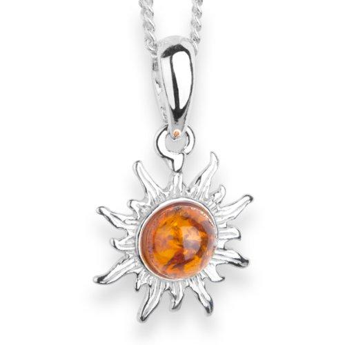 InCollections Damen-Halskette Sonne 925...