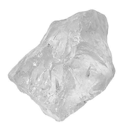 Bergkristall Quarz XL Rohstein SUPER KLARE A* Qualität ca. 150-180g