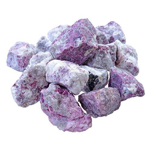 Roter Turmalin (Rubellit) Rohsteine Wassersteine 100% naturbelassen 300 gramm