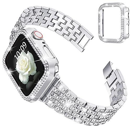 wlooo Glitzer Diamant Armband & Hülle...
