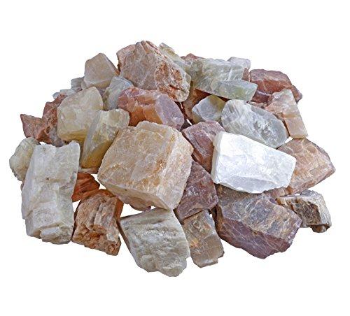 Mondstein Rohsteine Wassersteine 100% naturbelassen 300 gramm