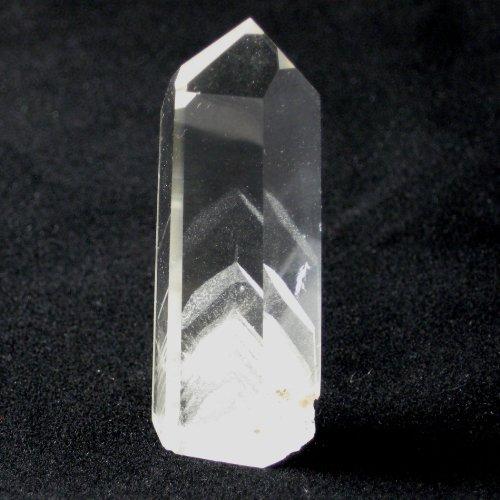 Bergkristall Phantomquarz Spitze geschliffen ca. 5 cm ca. 25 - 30 g