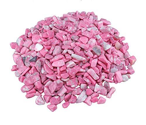 Thulit rot Mini Trommelsteine 100 gramm...
