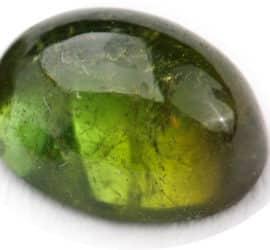 Verdelith (grüner Turmalin)
